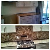 Redone kitchens