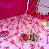 A LOCKET WITH SPECIAL PHOTOS