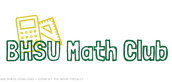 The BHSU Math Club is renting calculators now!
