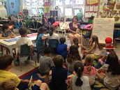 Max and Tory's Mom Reading to the Class