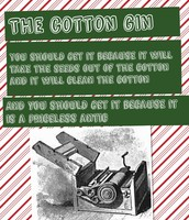 Cotton Gin Advertisement