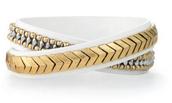 Gilded Path Double Wrap Bracelet $59