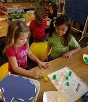 """We played the game """"Bump"""" this week in Kinder!"""