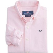 Vineyard Vines Boys oxford whale button down