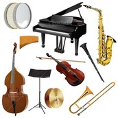 They shared many of the instruments