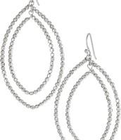 Bardot Hoops Silver - $15