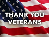 Thank a Veteran for Their Service!
