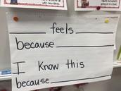 Sentence Stem example