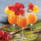 Self Serve Hawaiian Bar