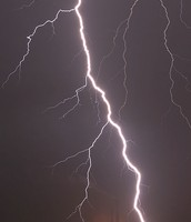 lightning strikes!!!!