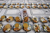 Once these days are over, Muslims might able to eat again with bigger plates