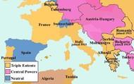 Europe Map- 1914