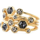 Stackable Gems Ring, Size 8