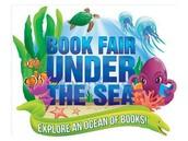 """Under the Sea"" at the Scholastic Book Fair!"