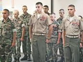 Who are we? We are Young Marines!!