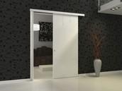 Surface-sliding Door