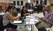 KB Polk ES Teachers Dive Into Data