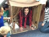 Ms. Watkins visits our Karana house!