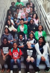 Sorors from UNCC to Mentor HiRMS