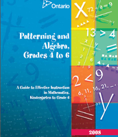 Grade 4-6 Guide to Effective Instruction (Patterning & Algebra)