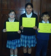 our three awarded for Gentleness