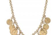 Rio Single Strand Coin Necklace