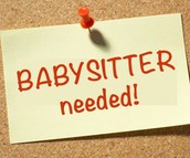 Babysitter- For SFdS Connections Group