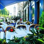 Cafe de Muskrat et Grece