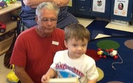Daniel with his grandparents!