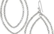 Bardot Hoops - Silver