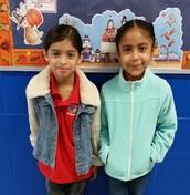Dasha Alamilla - 2nd Grade/Sofia Aldava - 3rd Grade