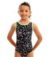 Colorful Plum leotard that any  spectacuar gymnast can wear