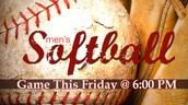 Softball game tonight