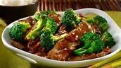 Yang's beef & broccoli