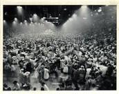 El primer concierto de rock