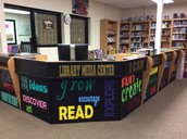 New design to our circulation desk