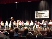 Our student at the CCS Spelling Bee