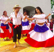 Traditional Merengue Dancers