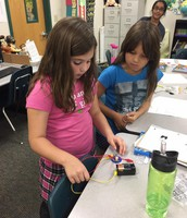 Building a circuit in Science!