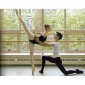 The oppurtuinity to partner and have that kind of arabesque.