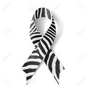 Zebra striped