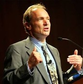 timothy berners-lee at a computer conference