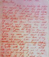 the first letter jack wrote to the police