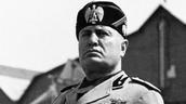 EN ITALIA ESTUVO EN EL PODER EL PARTIDO FASCISTA CON SU LÍDER BENITO MUSSOLINI, A PARTIR DE 1922