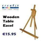 Creativ Company Wooden Table Easel