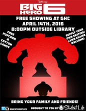 Free Showing of Big Hero 6 at GHC