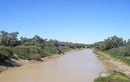 This is what the Diamantina River looks like.