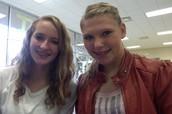 Mi amiga Tyerra y yo