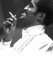 Sammy smoking