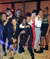 Homecoming with the squad lol